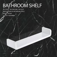 Etagere de rangement murale  organisateur de salle de bains etanche cuisine en plastique shampooing  etagere de rangement murale  conteneur pratique a la maison  toilettes sans poincon