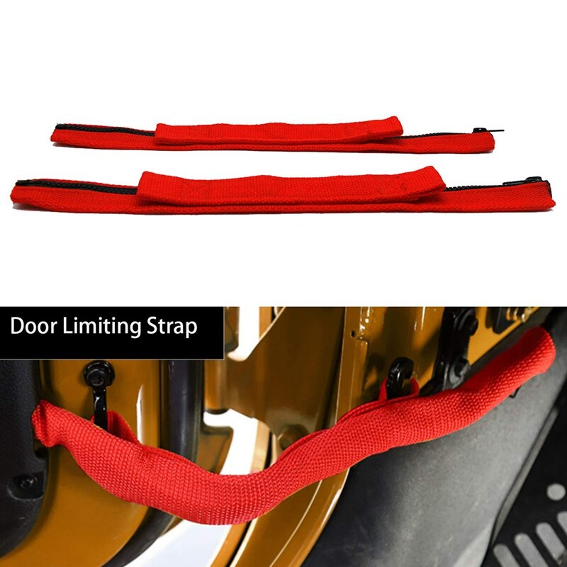 Replacement Parts of Door Positioner Door Limit Strap Car Modification Parts for Jeep Wrangler JK 20