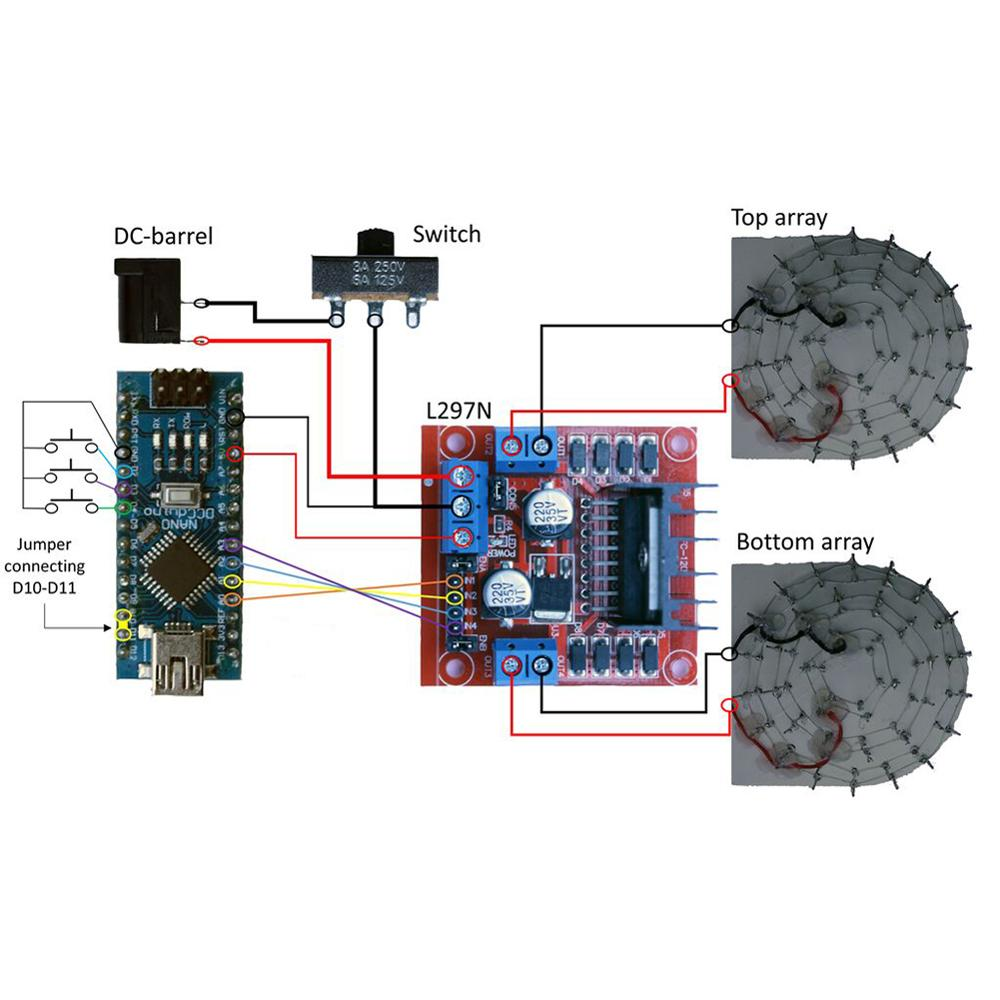 RCmall Ultrasonic Levitation Acoustique Electronic DIY Kit Levitator TinyLev Portable Acoustic Tractor enlarge