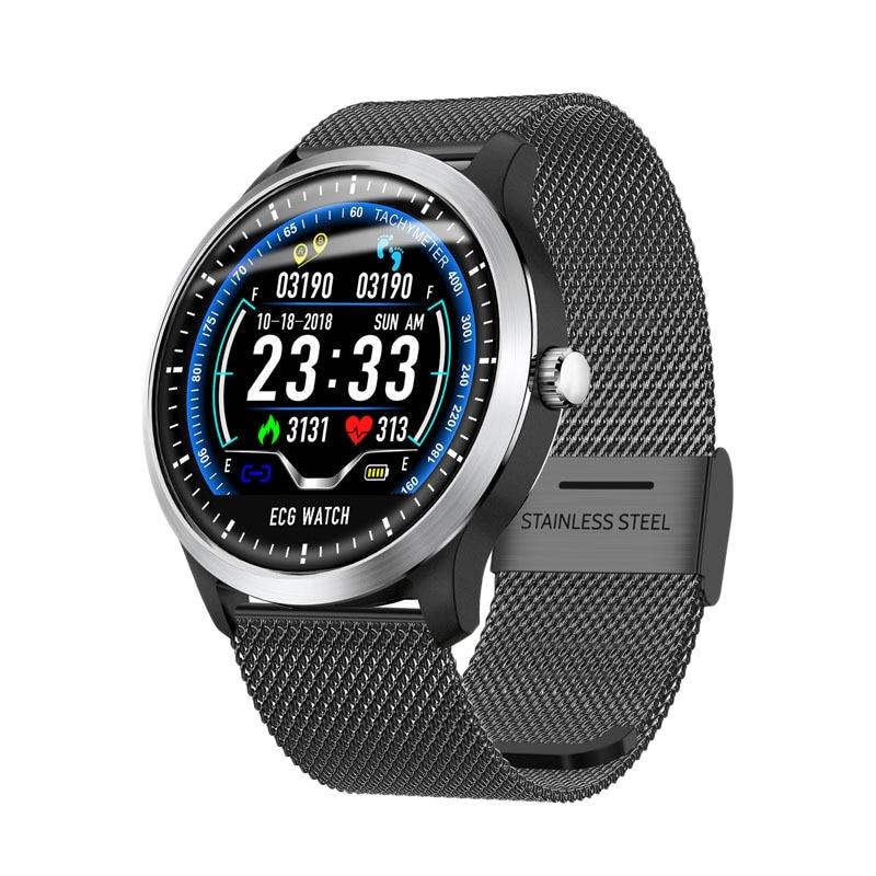 N58 Smart Uhr Sport Armband PPG EKG HRV Bericht Herz Rate Blutdruck Test Monitor Peeter Wasserdicht