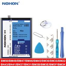 NOHON BM47 BM46 BM45 BN43 BN41 BN31 BM22 BM49 Batterie Pour Xiaomi CC9 Mélanger 3 2Km 5 8 9 SE Pro Lite 4C 5S Max 2 5X Redmi 3S 3X 4X
