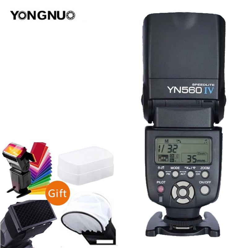 YONGNUO YN560IV YN560-IV YN560 IV فلاش لاسلكي Speedlite YN560-TX الثاني الزناد لكانون نيكون أوليمبوس بنتاكس فوجي كاميرا