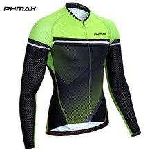 PHMAX Pro Maillot De cyclisme à manches longues vtt vêtements De vélo vêtements De vélo vêtements De cyclisme Maillot Roupa Ropa De Ciclismo