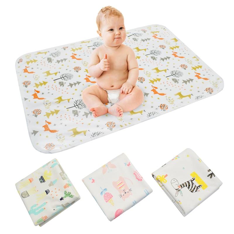 [Mumsbest] almohadillas de cambio de cubierta Del Pañal Del Bebé de gran tamaño lavables a prueba de agua almohadilla de orina portátil para recién nacidos, alfombrilla de cambio de bebé de 5 tamaños