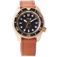 heimdallr mens bronze dive watch 46mm black dial sapphire 300m water resistance nh35 automatic movement mens watches