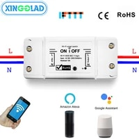 Smart Home 2 4G Wifi Switch Wireless Remote Timing Intelligent Grouping Control Real-Time Monitoring Anomalies Alexa Voice 10A