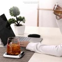 usb mug warmer portable heating coaster for coffee tea milk constant temperature automatic power off heating coaster holder