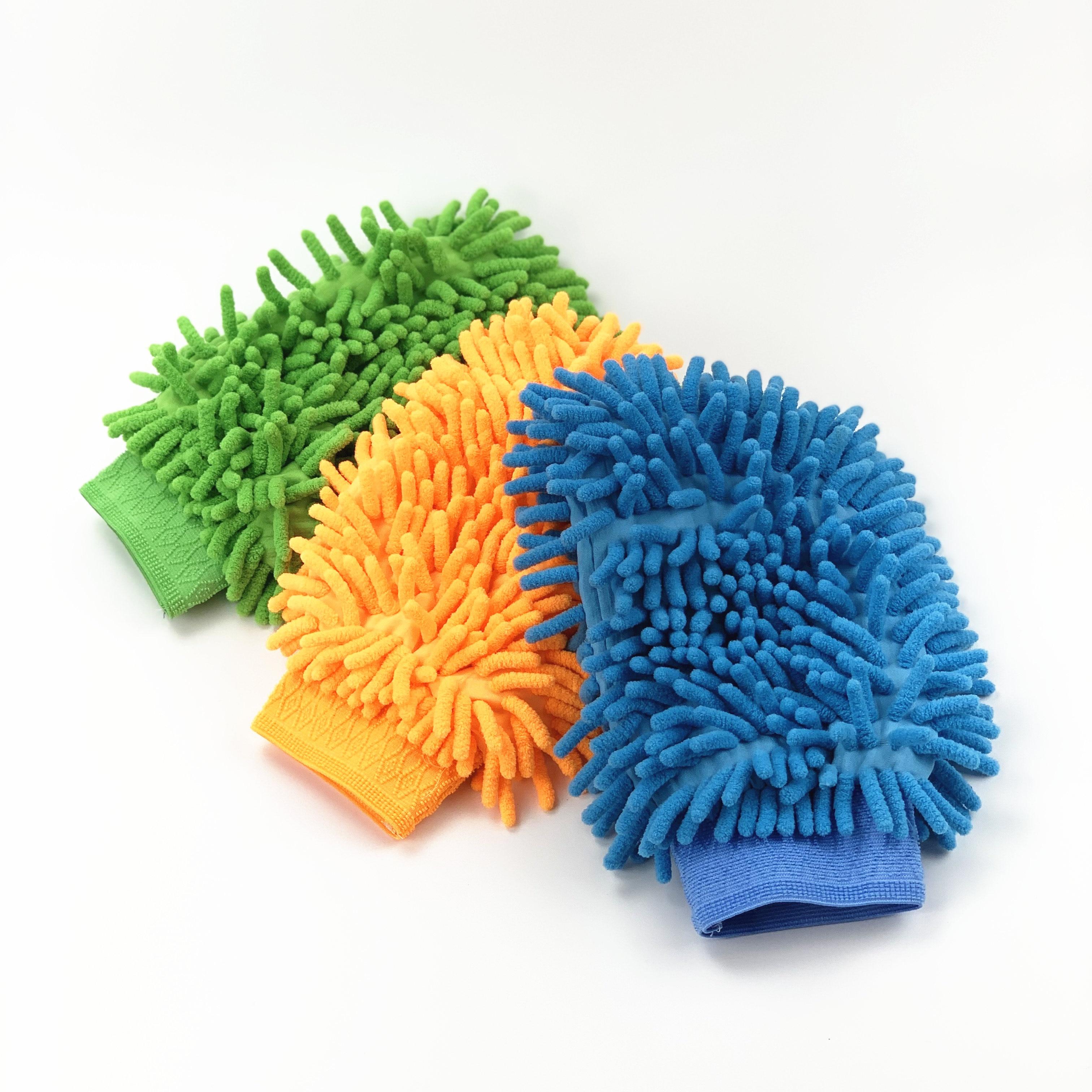 1pc de coche lavado guantes para Roewe 750, 950, 350, 550 E50 W5 E50/Englon SC3 SC5 SC6 SC7 Panda