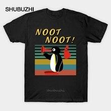Hommes t-shirt Pingu Noot Noot mère kers Vintage hommes t-shirt femmes t-shirt