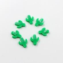 12mm acrylique vert Cactus boucle doreille (pas de goujon) accessoires fournisseurs Laser coupe 0.48
