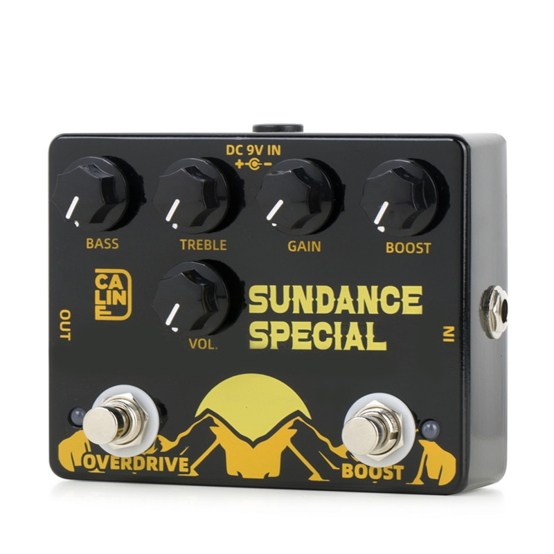 Caline DCP-06 Sundance Special Boost Overdrive Effect Pedal Guitar Accessories Dual Guitar Pedal enlarge