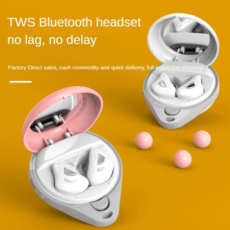 TWS In-Ear Macaron Mini Wireless Bluetooth 5.0 Noise Cancelling Headphones enlarge