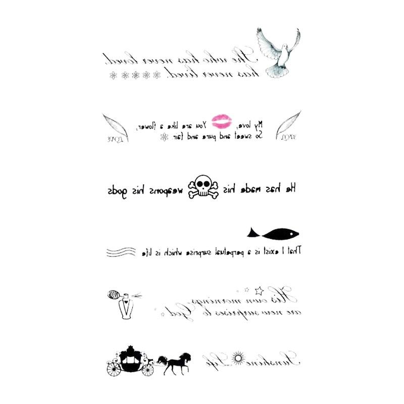 Inglês carta pigeon carriagetatuajes mão tatouage corpo à prova dwaterproof água temporária flash faketattoo adesivo pequeno taty para mulheres masculinas