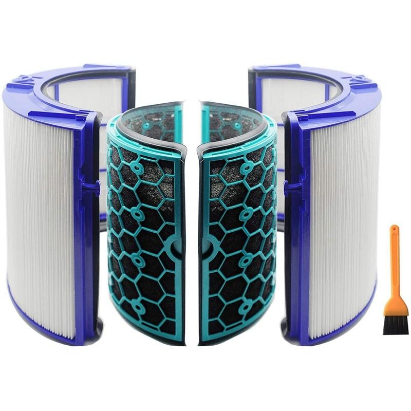 استبدال فلتر تنقية الهواء Dyson ، HP04 ، TP04 ، DP04 ، TP05 ، HP05 ، مراوح تنقية الهواء البارد ومختوم