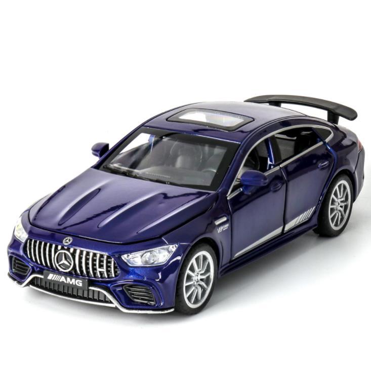 ¡Nuevo! coche en miniatura de aleación 1:32 BENZ AMG GT63 vehículos de juguete coches de juguete juguetes educativos para niños regalos niño juguete