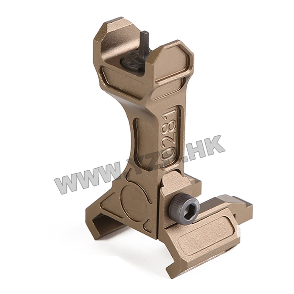 BD Black Metal Tactical Rail Leaf Like Fixed Sight Iron Offset For LA5 PEQ15 And C Models Mounts Hunting Shooting Accessories