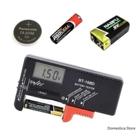bt168d digital lithium battery capacity tester lcd bt 168d battery diagnostic tool for 9v 1 5v aaa aa button cell universal test