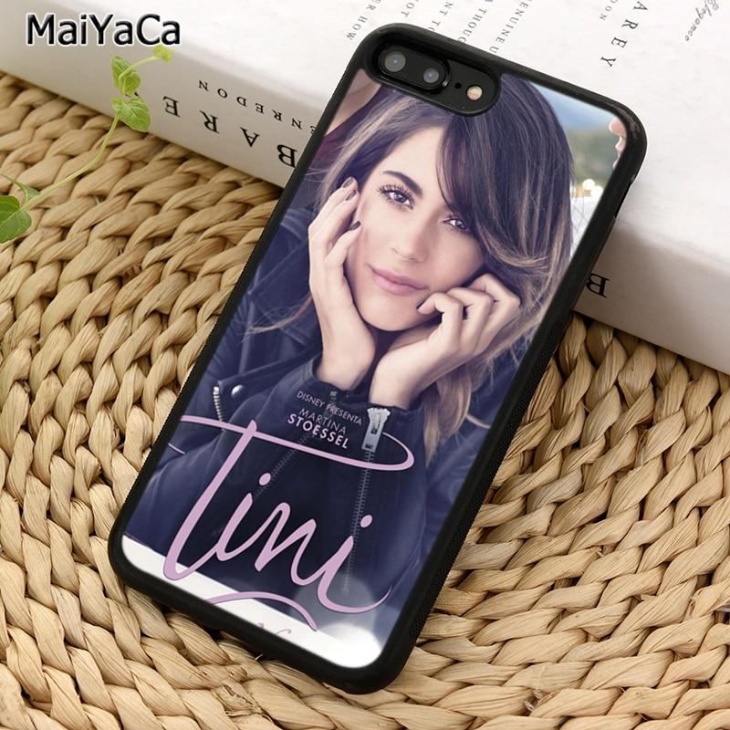 Чехол для телефона MaiYaCa TINI Martina Stoessel для iPhone X XR XS 11 Pro MAX 5 6 S 7 8 Plus Samsung Galaxy S5 S6 S7edge S8 S9 S10