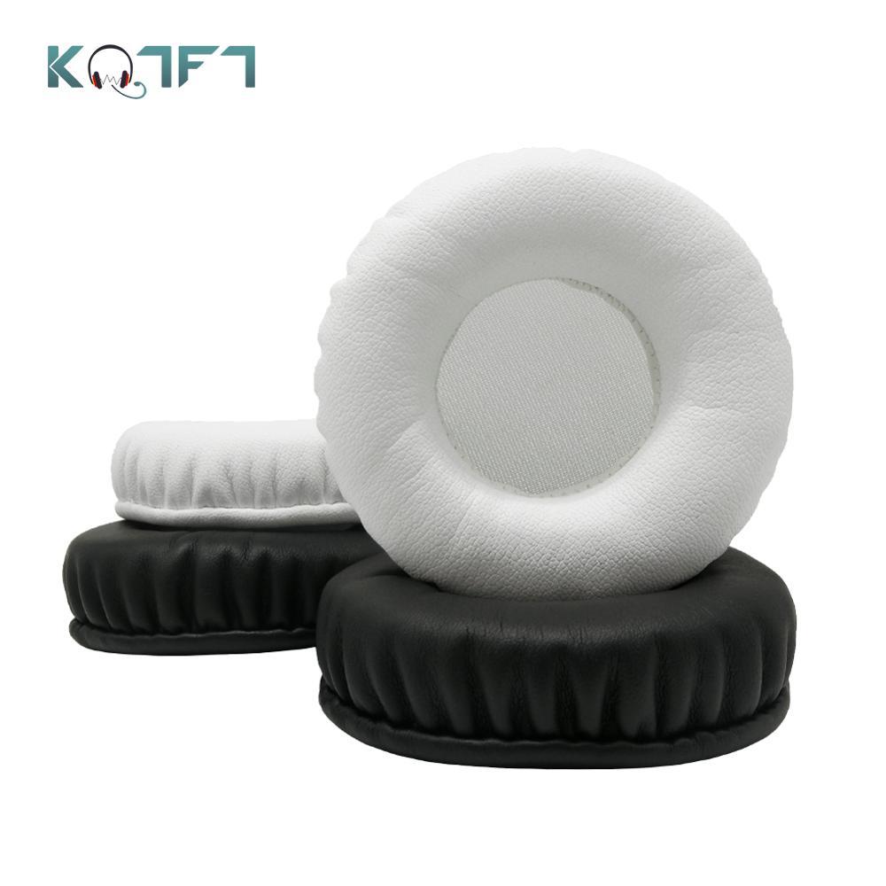 Kqtft 1 par de almofadas de substituição para philips shp2500 shp 2500 shp-2500 fone de ouvido earpads earmuff capa almofada copos