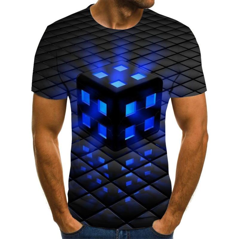 New hot sale men clothes 2020 3D Men's T-Shirt Summer printed casual shirt Plus size O-Neck short sleeve fashion t shirt