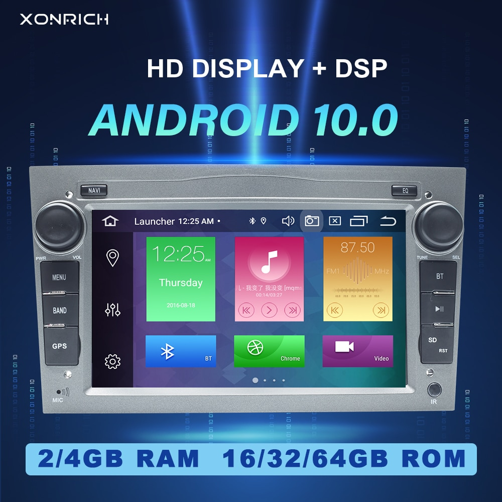 2 Din Android 10 Auto KEINE DVD-Player Für Opel Vectra C Zafira B Corsa D C Astra H G JMeriva Vivaro Multimedia GPS Navigation Radio