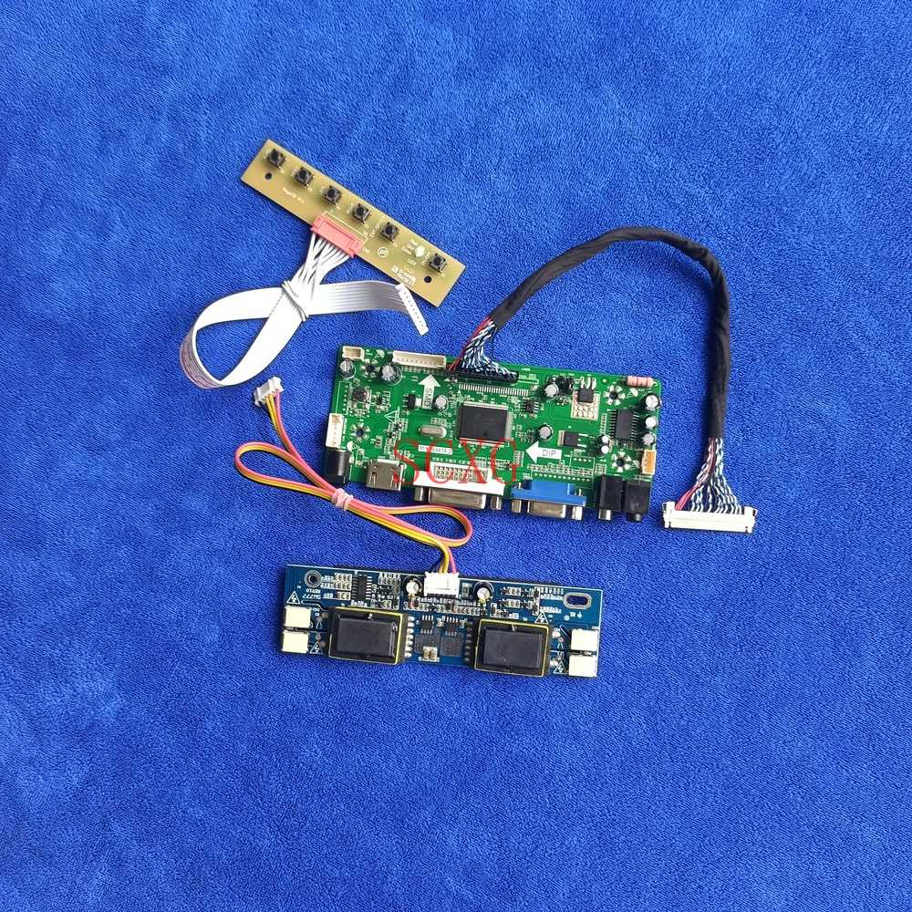 LVDS 30 دبوس 4CCFL لتقوم بها بنفسك عدة 1920*1080 لوحة تحكم صالح HT236F01/M236H1/M236MWF1/TM236VCS01 DVI VGA HDMI متوافق مع شاشة الكريستال السائل