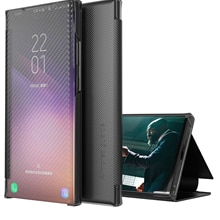 สมาร์ทคาร์บอนไฟเบอร์สำหรับโทรศัพท์ Samsung Galaxy S21 Ultra S10 S9 S20 FE หมายเหตุ20 Ultra A12 a51 A21S A50 A52 A32ฝาครอบ