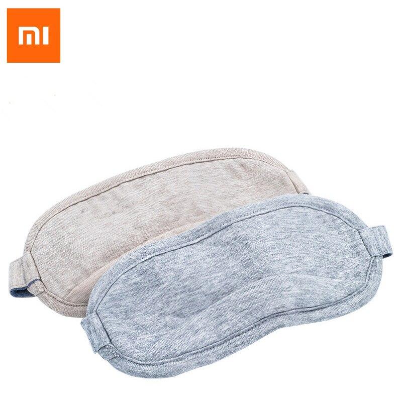 Máscara de Olho Xiaomi Viagem Escritório Dormir Resto Auxílio Portátil Respirável Sono Óculos Capa Sentir Frio Gelo Algodão 8h