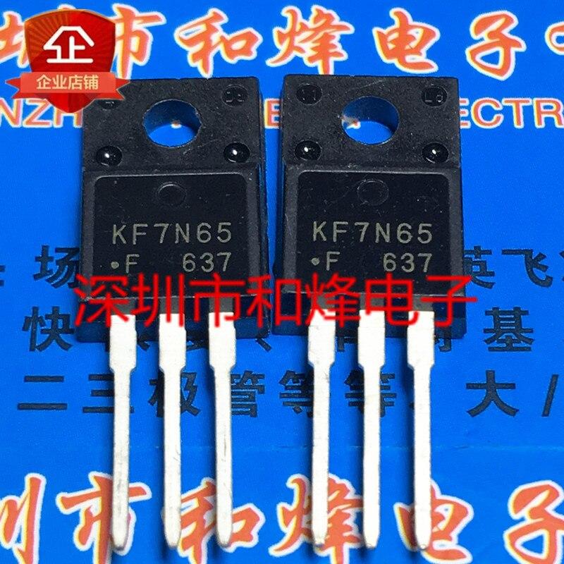 100% novo & original KF7N65 KF7N65F TO-220F 650V 7A