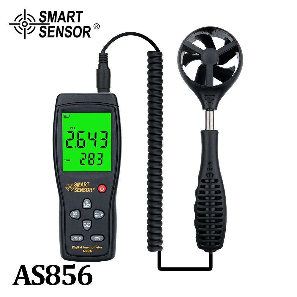 مقياس رقمي لشدة الرياح سرعة الرياح سرعة الهواء درجة الحرارة جهاز القياس 0.3-45 متر/الثانية بيانات عقد إلى الكمبيوتر عبر USB تشخيص-أدوات