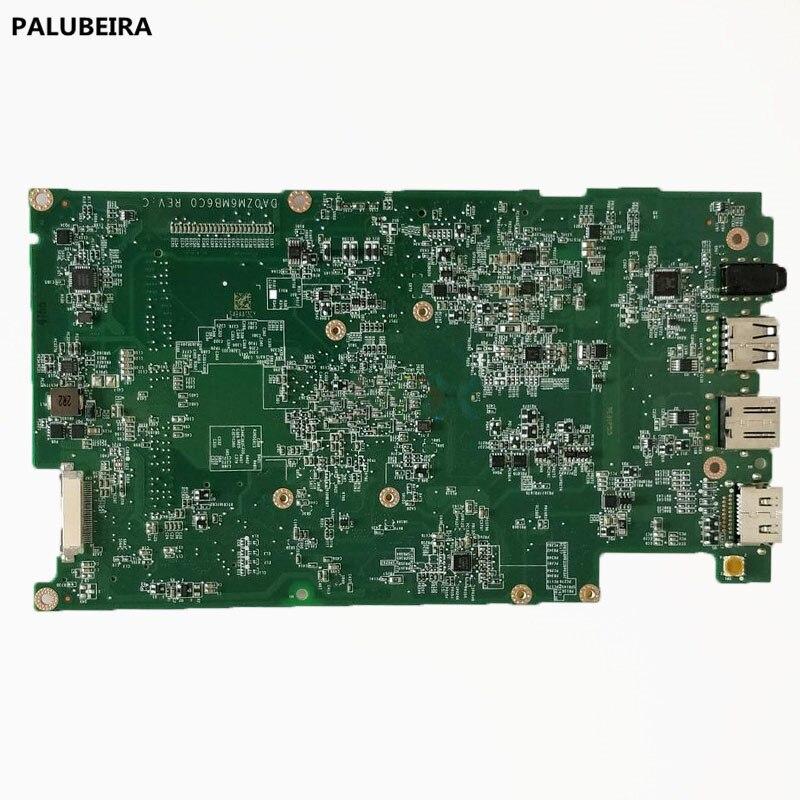 PALUBEIRA de alta calidad portátil placa base para Dell Inspiron 11 3138 N2830 placa base CN-06G2PF 06G2PF DA0ZM6MB6C0 SR1W4