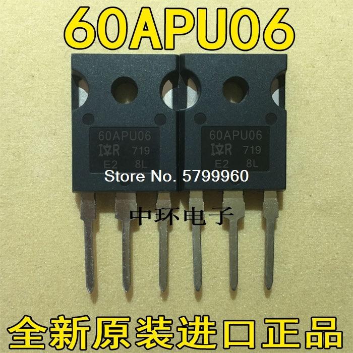 10 unids/lote 60APU06 60A 600V TO247 transistor
