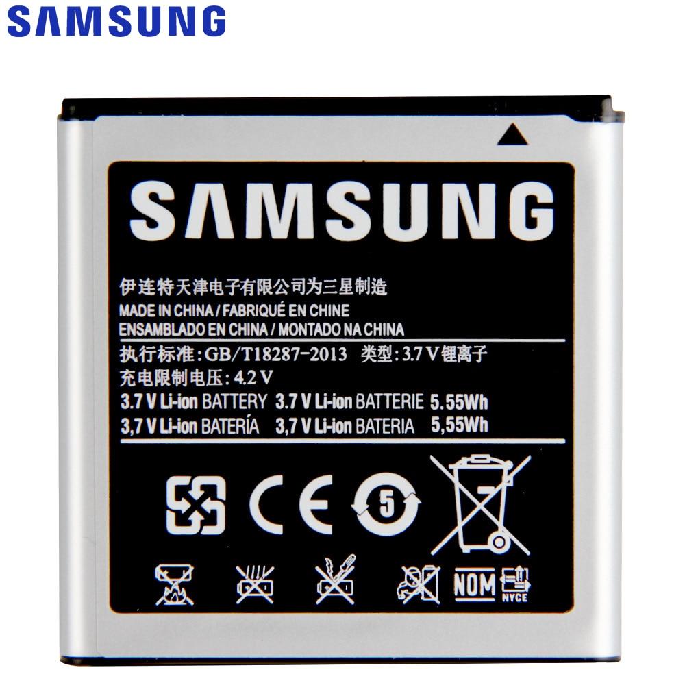 Original Replacement Samsung Battery For Galaxy S Advance i659 i9070 B9120 W789 Genuine Phone Battery EB535151VU 1500mAh enlarge