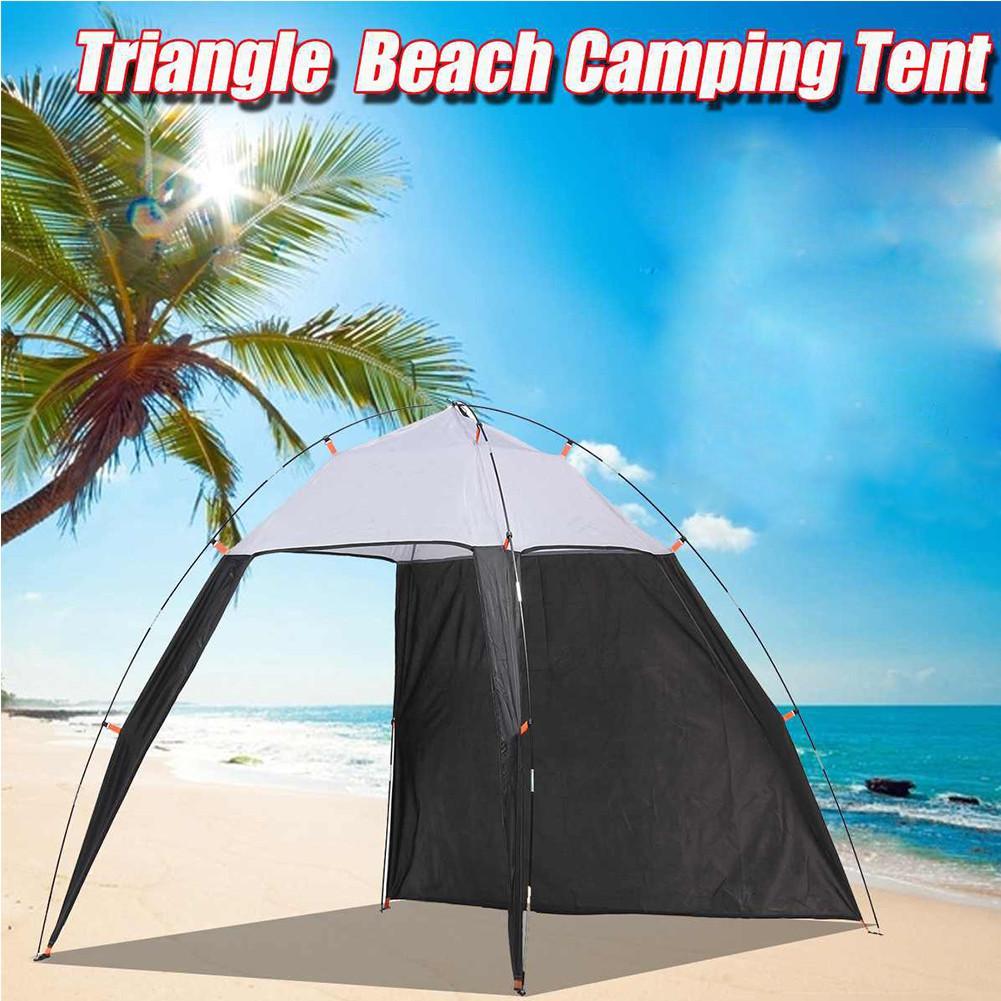 خيمة خفيفة الوزن مقاومة للماء ، مظلة خارجية ، مأوى للشاطئ ، واقي من الشمس ، لصيد الأسماك ، والتخييم ، والسفر ، والتسليم المباشر