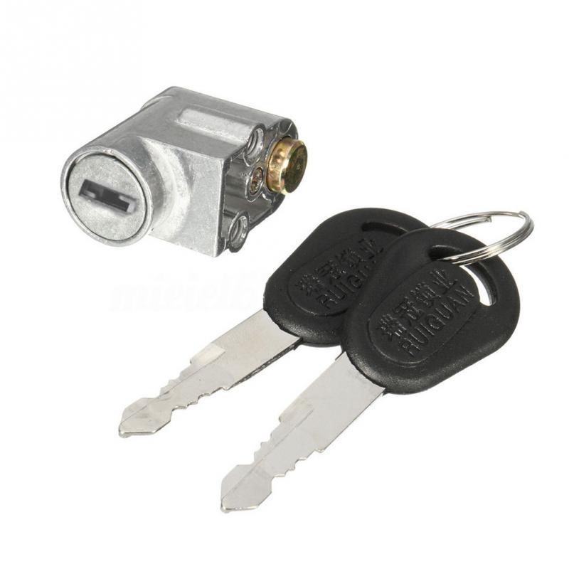 Электромобиль батарея безопасности коробка замок 2 ключа для мотоцикла Электрический велосипед скутер E-Bike Блокировка аккумулятора