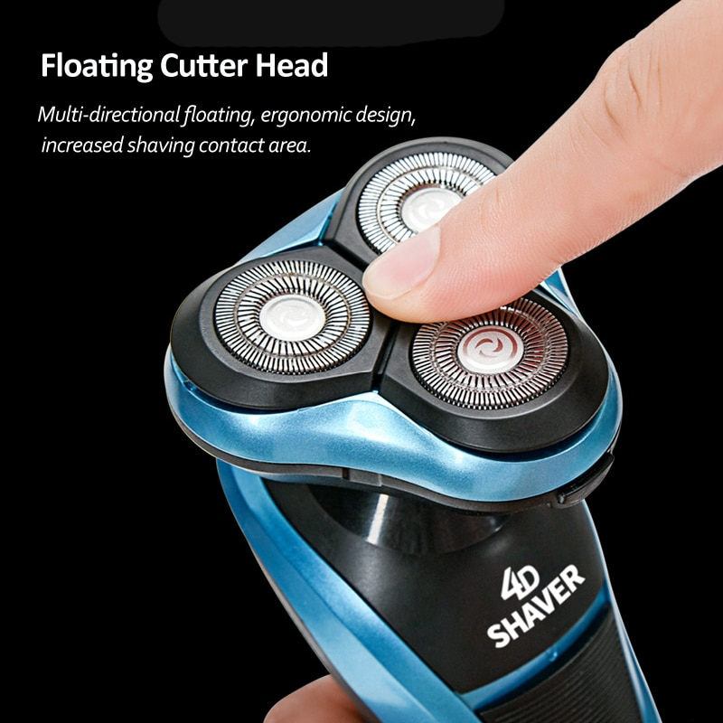 IXueJie Electric Shaver for Men Multifunction 4In1 Beard Trimmer 4D Floating Razor Head Washable Rechargeable Shaving Machine enlarge