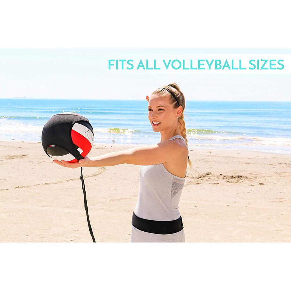 Набор для волейбола подарок для волейбола, эластичная веревка, оборудование для тренировки волейбола, тренировка для соло, тренировка для н...