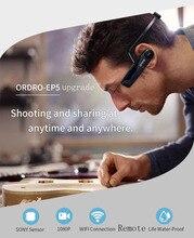Digital Video Kamera 4K 25FPS 1080P WiFi Camcorder EP6 EP5 Kopf Tragen Mini Kameras Video Gebaut-in mikrofon ep5 unterstützung fernbedienung