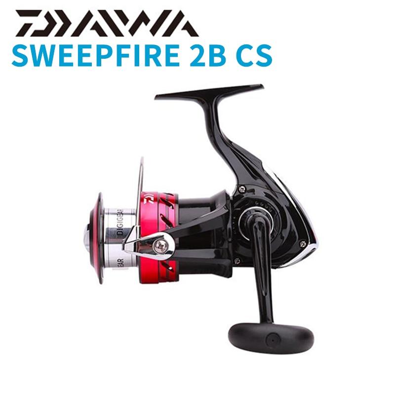 Daiwa sweepfire 2b cs spinning carretel de pesca 1500 2000 2500 3000 3500 4000 4500 5000 metal carretel spinng 2 + 1bb 5.31 engrenagem carretel