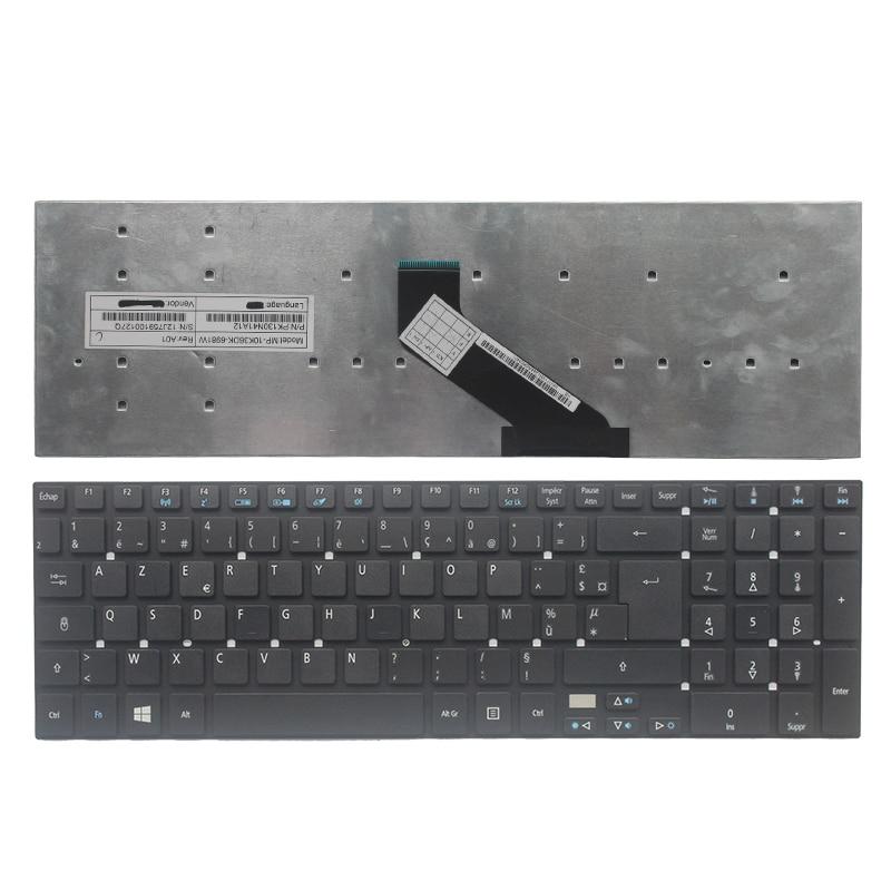 NEW French/FR laptop Keyboard for Acer Aspire V3-771G V3-571 5755G 5755 V3-531 V3-771 V3-551G V3-551 5830TG MP-10K36DK-6981W