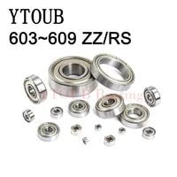 free shipping 10pcs bearing 603 to 699 zz z rz 2rs miniature ball bearing 604 605 606 608 623 624 626 628 686 687 688 bearings