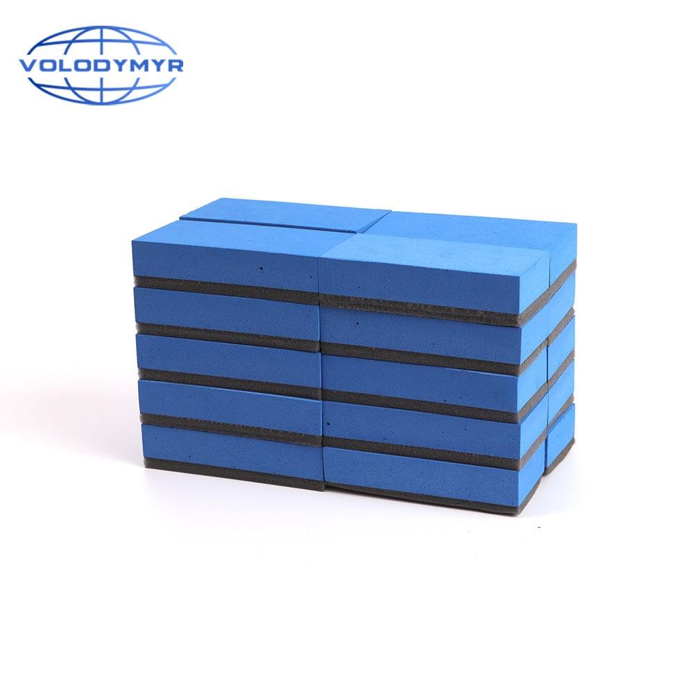 Ceramic Coating Sponge 20pcs Per Set for Car Paint Repair Nano Ceramic Glass Hydrophobic Coating Interior Clear Auto Care
