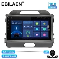 ebilaen car multimedia player for kia sportage 3 4 2010 2016 android 10 0 autoradio gps navigation dsp ips headunit 4g stereo