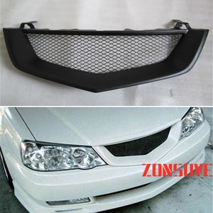 Use For Acura TL 2002 2003 Year Carbon Fibre Refitt Front Center Racing Grille Cover Accessorie Body Kit Zonsuve