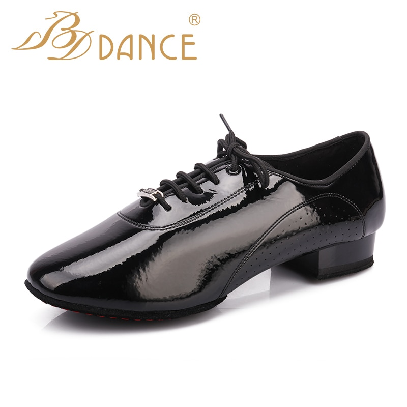 BDDance dance Shoes Men's ballroom dance Shoes Modern dance shoes jazz shoes two point sole 309 Heel 25mm