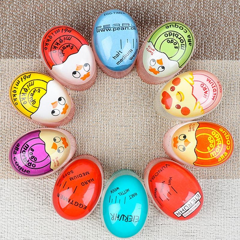 Egg Timer Color Changing Timer for Kitchen Tools Gadgets Egg Cooker Helper Yummy Soft Hard Boiled Eggs Cooking