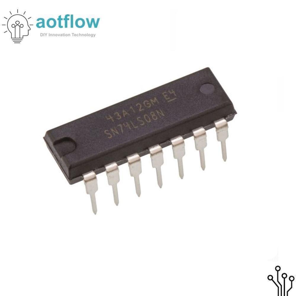 10pcs-sn74ls08n-dip14-sn74ls08-dip-74ls08n-74ls08-sn74ls08-hd74ls08p-dip-14-new-and-original-lm324-pc817-esp32-esp8266-arduino