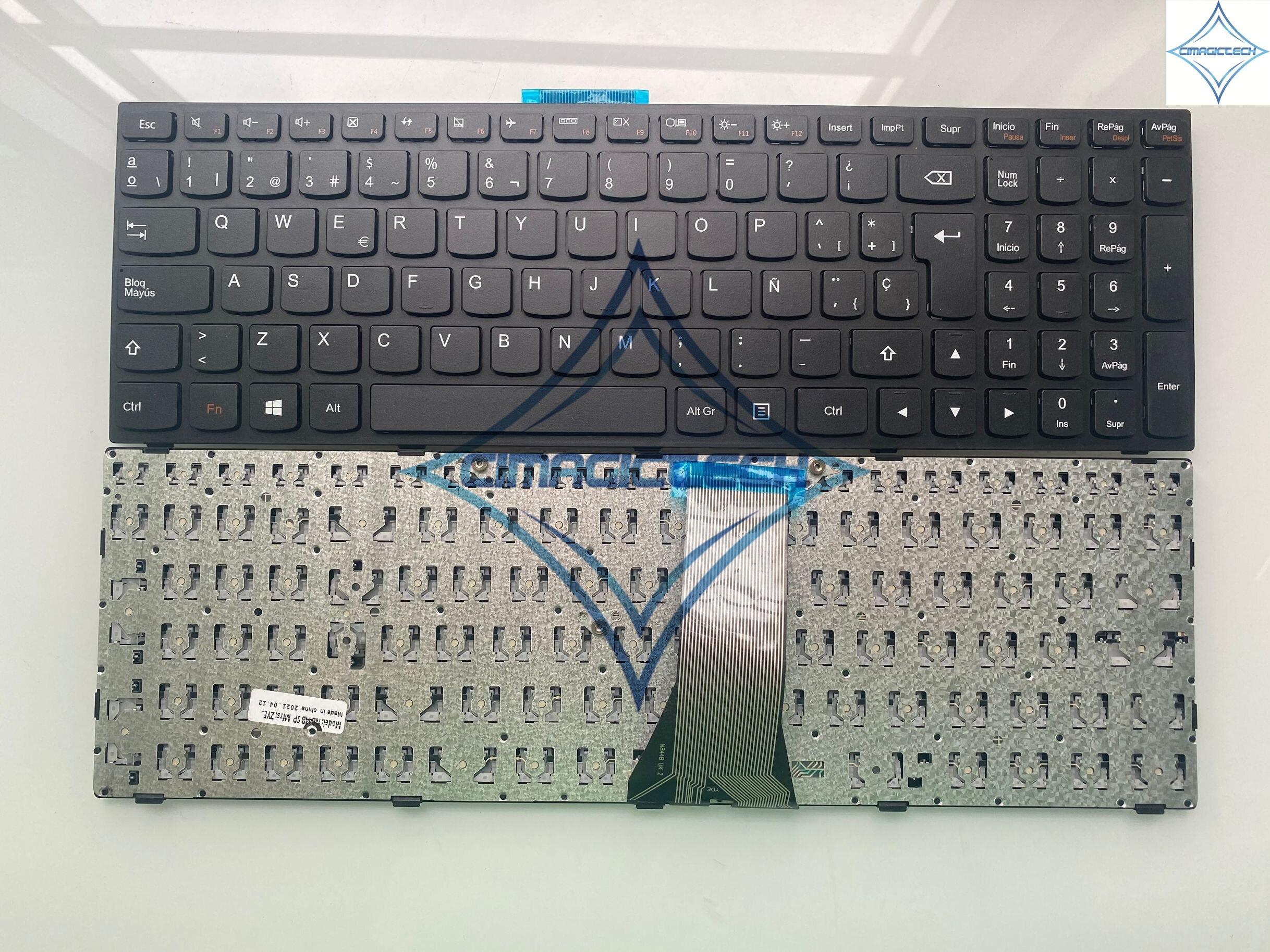 جديد لينوفو ايديا باد 300-15 300-15isk 300-15IBR 300-17ISK 300-15IRU 300-17IRU SP LA الاسباني لوحة مفاتيح الكمبيوتر المحمول Teclado