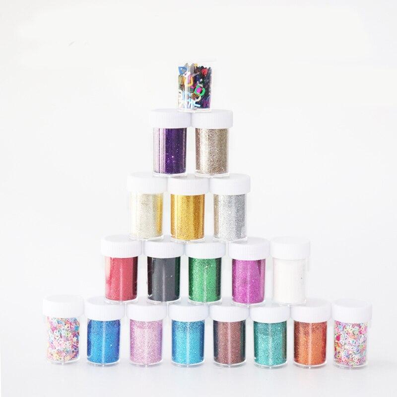 1 Bottle Fine Holographic Glitter Powder Shining Sugar Nail Set Sequins Dust Art Decorations