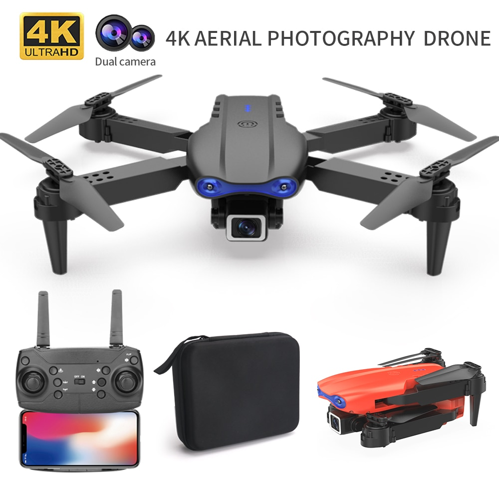 2021 New K3 RC Mini Drone 4K HD Wide Angle Dual Camera WIFI FPV Aerial Photography Helicopter Foldable Quadcopter Drone Toys enlarge